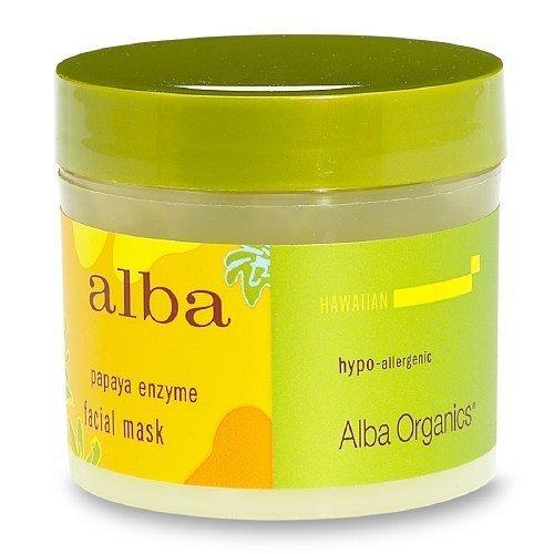 Alba Hawaiian Facial Mask, Papaya Enzyme 3 oz (85 g)