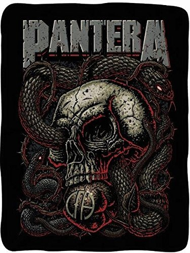 Pantera Snake Fleece Blanket by Surreal Entertainment