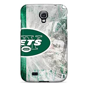Samsung Galaxy S4 Fjf16689pDsD Custom High Resolution New York Jets Pictures Shock Absorbent Hard Cell-phone Cases -Marycase88
