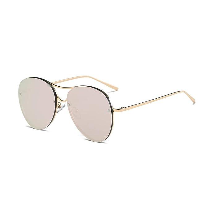 Persönlichkeit Männer Und Frauen Bunt Sonnenbrille Metall Quadrat Mode Trends Retro Sonnenbrillen ,C
