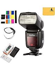 Godox TT685F TTL Fuji Flash Speedlite 2.4G Wireless GN60 HSS 1/8000S and 0.1-2s Recycle Time Camera Flash Speedlight for Fuji Fujifilm Camera X-Pro2 X-T20 X-T1 X-T2 X-Pro1 X100F