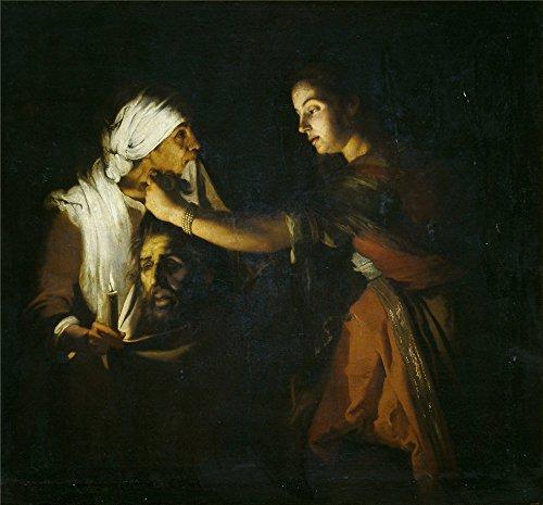canvas-prints-of-oil-painting-coster-adam-de-judit-con-la-cabeza-de-holofernes-20-x-22-inch-51-x-55-
