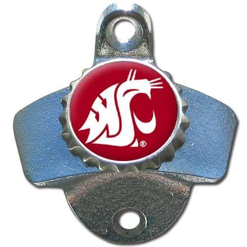 Siskiyou Washington State Cougars Wall Mounted Bottle Opener