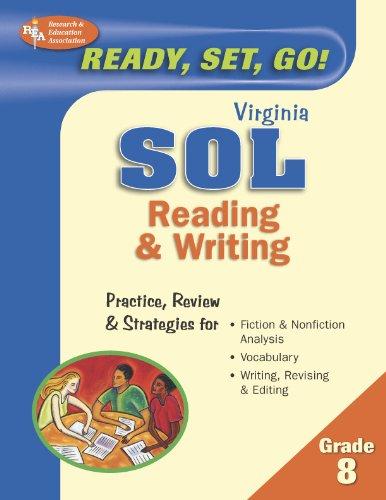 Virginia SOL, Reading & Writing, Grade 8 (Virginia SOL Test Preparation)