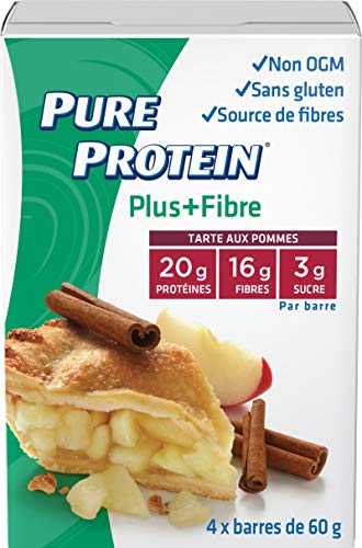 Pure Protein PLUS Fibre Bars, Gluten Free, Snack Bar, for sale  Delivered anywhere in Canada