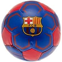 The Away End - FC Barcelona Baby Team Merchandise - Minibola Suave de 10 cm, Azul/Rojo