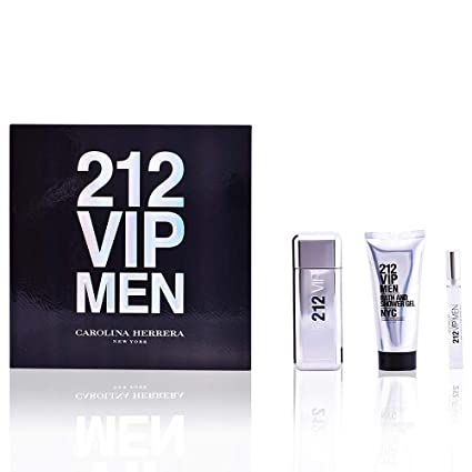 Carolina Herrera 212 Vip Men Set de Regalo - 3 Unidades