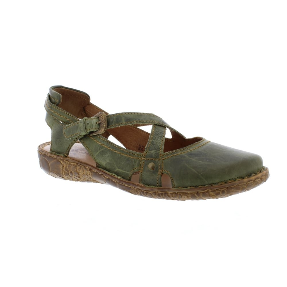 Josef Seibel Rosalie 13 - oliv (Green) Womens Shoes 8.5 US