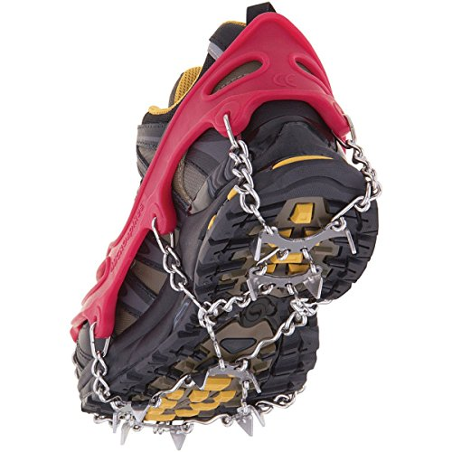 Kahtoola MICROspikes Footwear Traction Red XL by Kahtoola