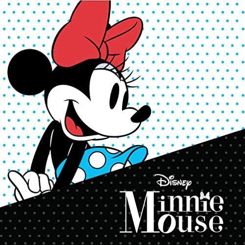 Disney Sterling Silver Minnie Mouse Stud Earrings