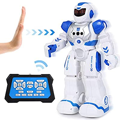 Toch Robot Toy, RC Robot Gesture Sensing Intelligent Programmable for Kids Boy Girl Present