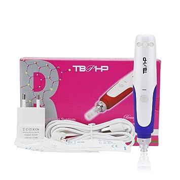 TBPHP Electric Aguja DermaPen Micro Roller Microneedle Pluma sello Rejuvenecimiento Facial