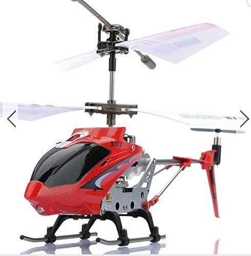 [Original Syma S107 S107G 3CH Infrared RC Helicopter GYRO (Red) by toyforyoustore] (Diy Incredibles Costume)