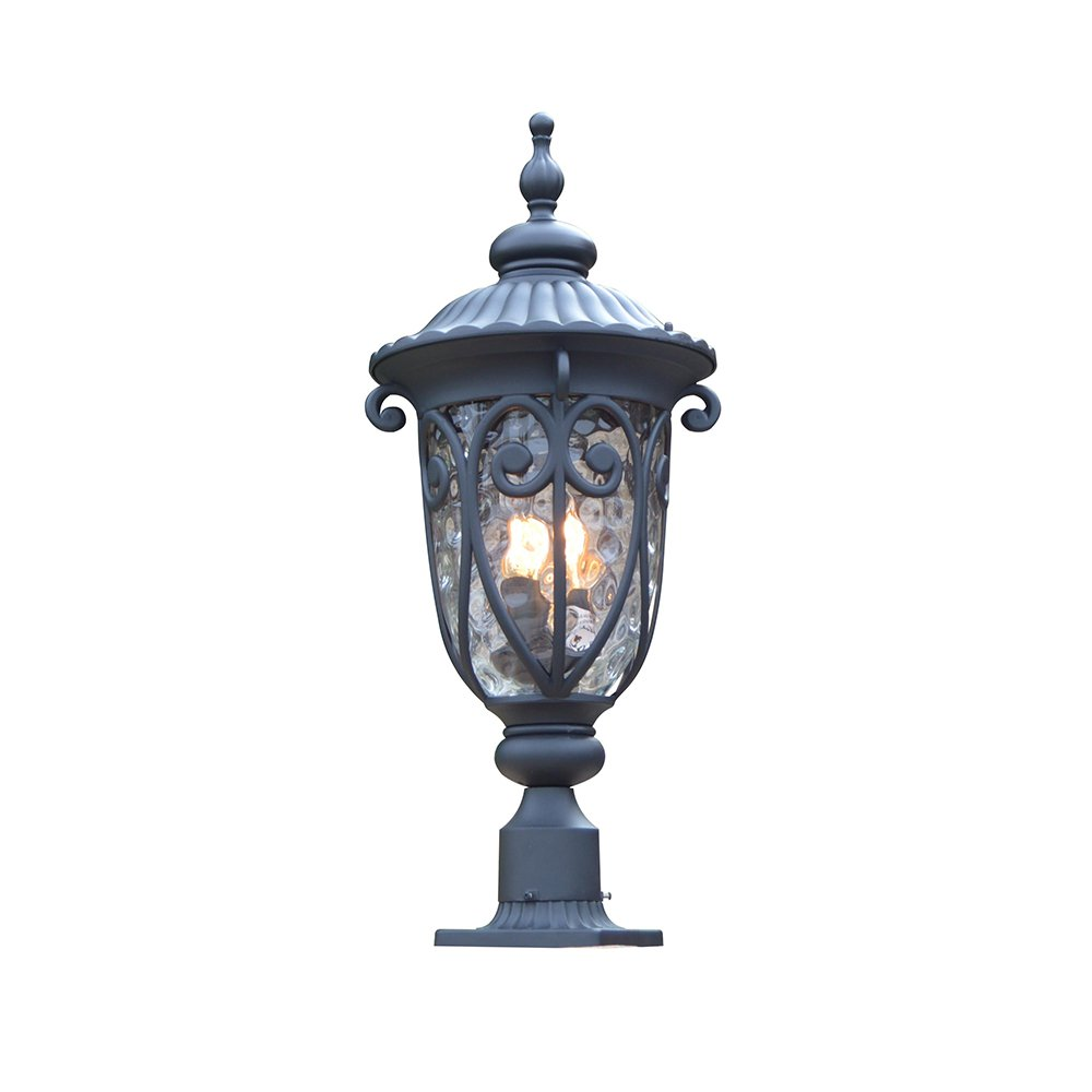 Y Decor EL519LPBL Hailee 3 Exterior Lighting in Matte Black Finish 3