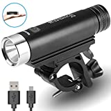 EVOLVA FUTURE TECHNOLOGY Rechargeable Bike Light, with Quick Release Mount MTB Bicycle Light 850 Lumens (X1S) For Sale