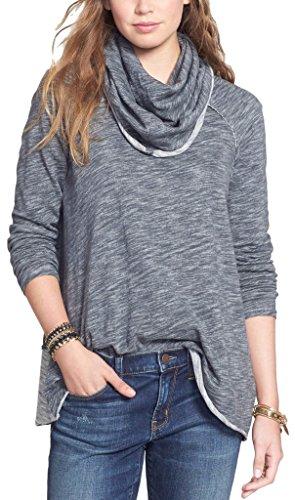 cowl neck sweater xl - 1