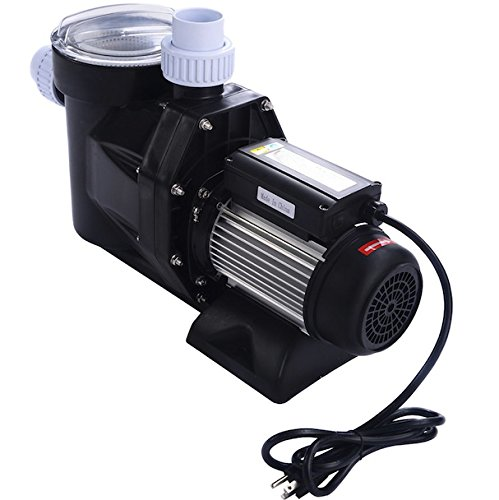 1.5HP Above Ground Swimming Pool Electric Water Pump Patio Lawn Backyard Pond Prevent Sewage Ideal For Home Garden Industrial Use 1100W 84GPM Strong Motor SPA DC 5040 GPH 1-1/2'' NPT Filter