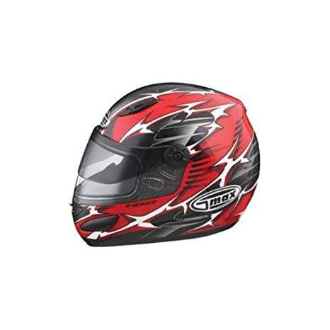 06abdea9 Amazon.com: Gmax Gm38 39Y 48 58 68 Single Lens Helmet Shield With Holes  Clear One Size: Automotive
