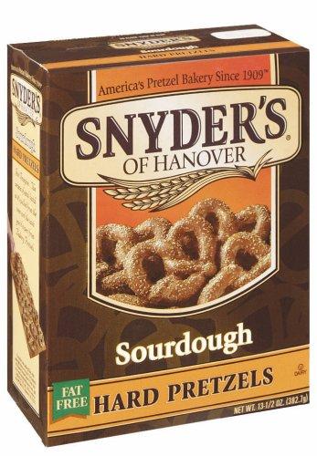 (Snyder's of Hanover Sourdough Hard Pretzels Box, 13.5 oz)
