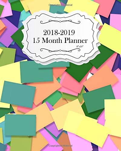 "Read Online 15 Month Planner 2018-2019 8""x10"": See It Bigger Planner  Get Sh*t Done Calendar  Planahead Journal  Set Goals and Crush Them  Improve ... & Improvement (Cute Planner) (Volume 2) pdf epub"