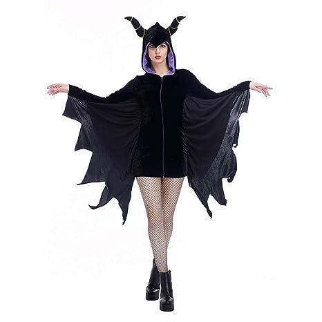 BGFDSV Disfraz de Joker de Halloween para niñas Adultas Vestido de ...
