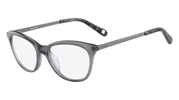 dd60f6459f2dd Image Unavailable. Image not available for. Color  Eyeglasses NINE WEST  NW8004 010 CRYSTAL CHARCOAL