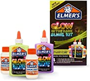 Elmer's Glow In The Dark Slime Kit | Slime Supplies Include Elmer'S Glow In The Dark Glue, Elmer'S Magical Liq