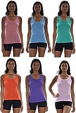 17a626c991e Yuetongme Xl-5Xl Plus Size Women 5 Color Tank Tops Sleeveless Girl T ...