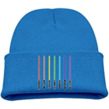 Msiiks Colorful Science Children's Knit Hat, Warm and Dirty Bones Hat.