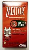 Zaditor Antihistamine Eye Itch Relief Drops, 5 ml bottle 3 Count