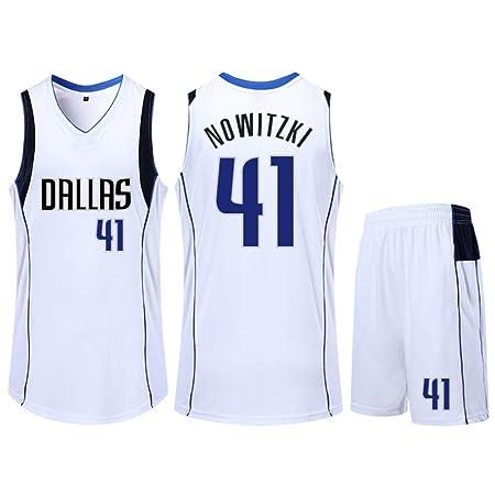 XSJY Ropa NBA Baloncesto Traje - Dallas Mavericks Dirk ...