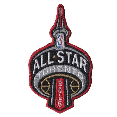 2016 NBA All Star Game Patch in Toronto Raptors Canada Jersey Patch by Patch Collection