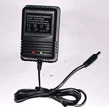 Cargador 24 V 400 mA para patinete Baterías de Plomo: Amazon ...