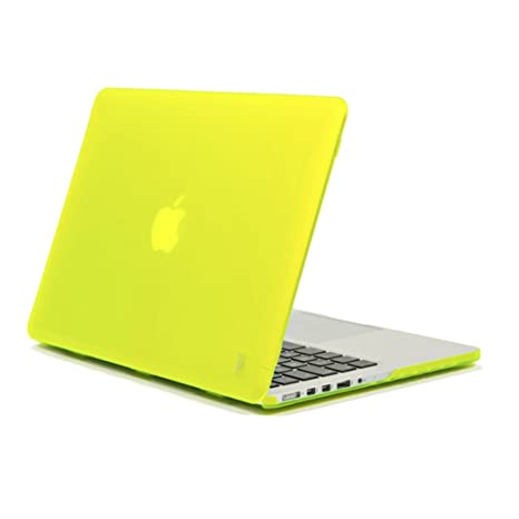 "Aiino Hard Shell - Funda dura para portátil Apple MacBook Retina 13"", color amarillo"