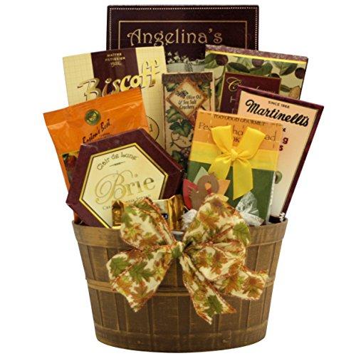 GreatArrivals Thanksgiving Wishes Gourmet Gift Basket, 4 Pound