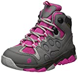 Jack Wolfskin Unisex-Kids Mtn Attack 2 Texapore Mid K Hiking Boot, Fuchsia, 6 M US Big Kid
