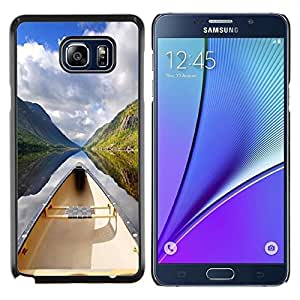 """For Samsung Galaxy Note5 / N920 , S-type Sunset Beautiful Nature 51"""" - Arte & diseño plástico duro Fundas Cover Cubre Hard Case Cover"""