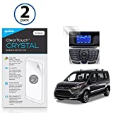 Ford Ford 2017 Transit Connect (6.5 in) Screen Protector, BoxWave [ClearTouch Crystal (2-Pack)] HD Film Skin - Shields From Scratches for Ford Ford 2017 Transit Connect (6.5 in)