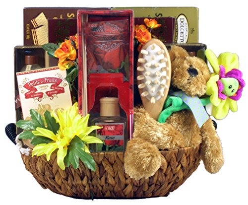 Gift Basket Village Relax While You Recover, A Get Well Gift Set for Her, 8 Pound (Get Well Soon Gift Baskets)