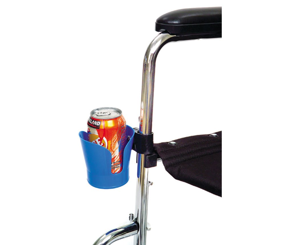 SM Cup Holder Wheelchair Walker Rollator Stroller Can Drink Bike Universal