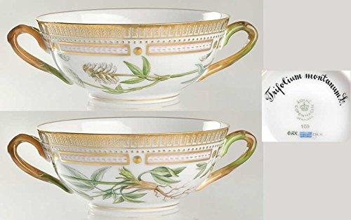 ロイヤルコペンハーゲン フローラダニカ(1961-) クリームスープカップ Trifolium Montanum L [並行輸入品] B00M0GAAKW