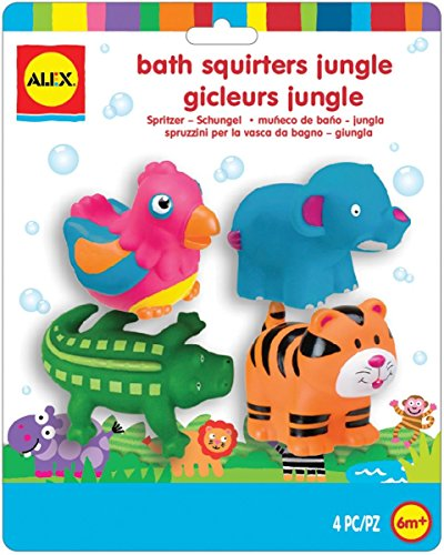 Squirters for the Tub - Jungle (Alex Toys Bath Squirters)
