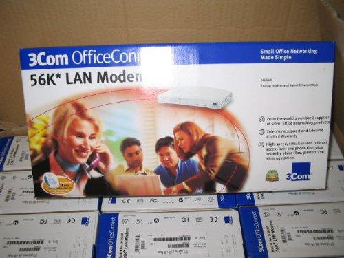 3C886A NEW // 3COM OFFICE CONNECT 56K LAN MODEM
