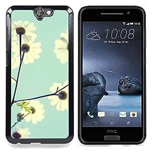 For HTC ONE A9 - field vignette sky blue baby flower /Modelo de la piel protectora de la cubierta del caso/ - Super Marley Shop -