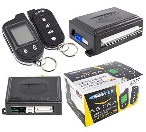 Scytek A777 Alarm 2 Way Remote Control Security System Mobilink App G3 Combo