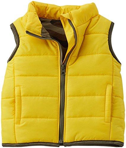 Carters Baby Boys Vest Yellow