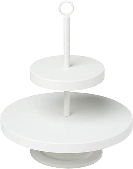Black IKEA VINTERFEST Serving stand three tiers