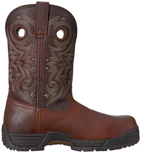 Mens Da Uomo Rkw0197 Western Boot Marrone