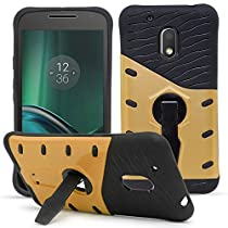 Moto G4 Play Kickstand Case Back Cover By DMG