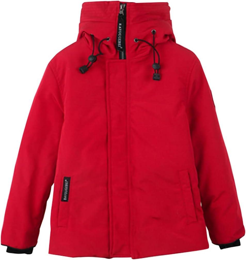 Chaqueta de Plumas para Niños Niñas Chaqueta de Abajo Ligero Abrigo Acolchado con Capucha Calentar Ropa de Invierno 3-9 Años